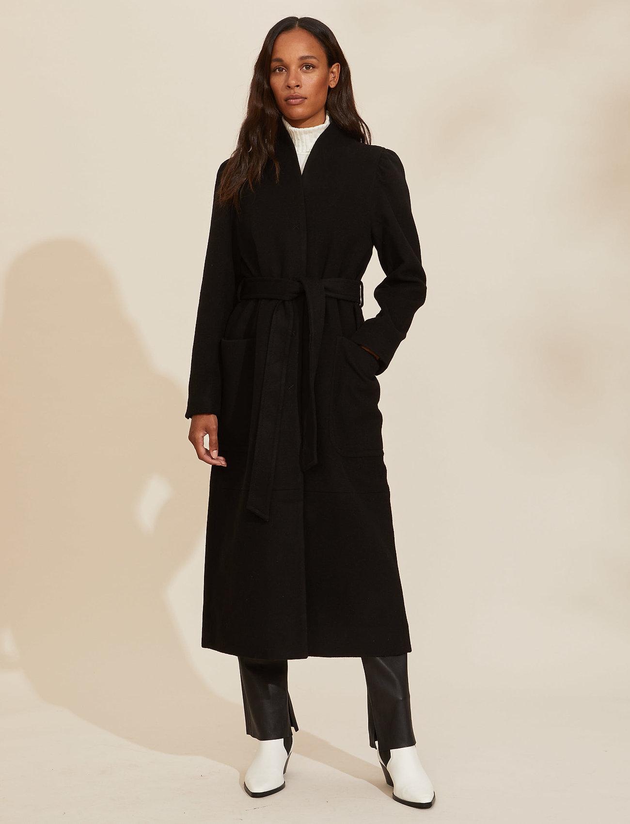 ODD MOLLY - Luna Coat - manteaux en laine - almost black - 0