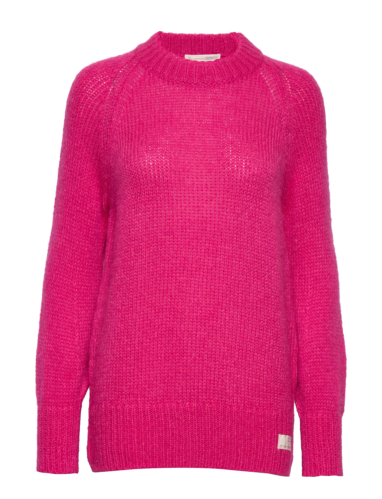 ODD MOLLY Significant Other Sweater - HOT PINK