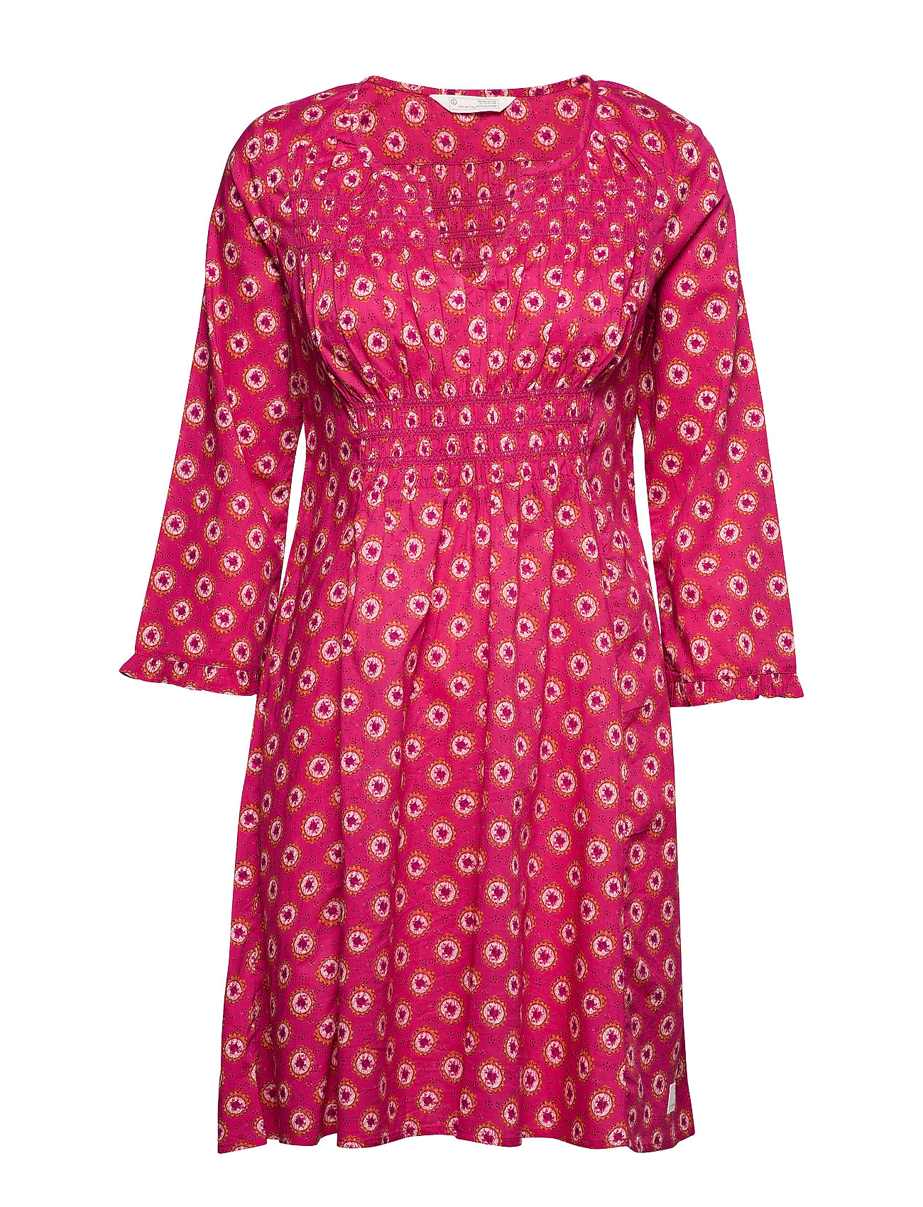 ODD MOLLY Calling For Dress - DEEP PINK