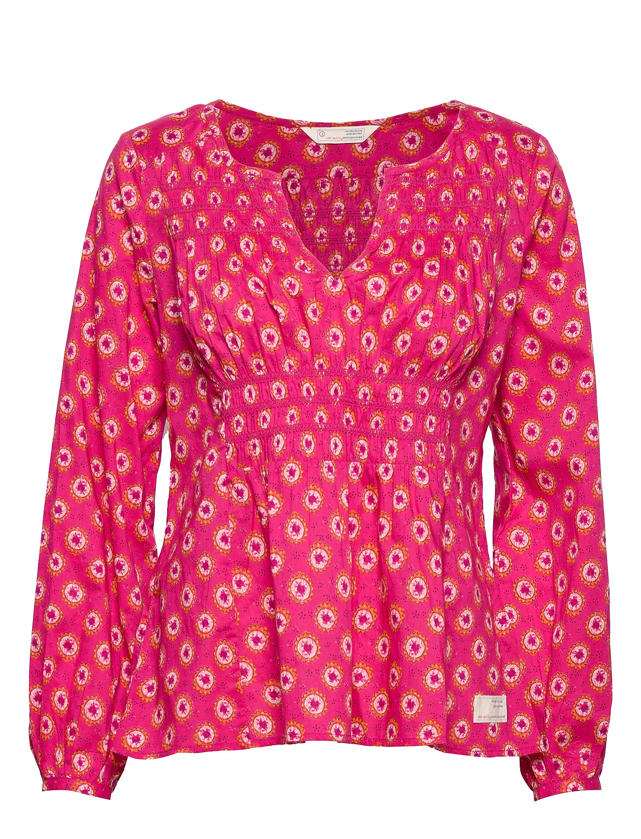 ODD MOLLY Calling For Blouse - DEEP PINK