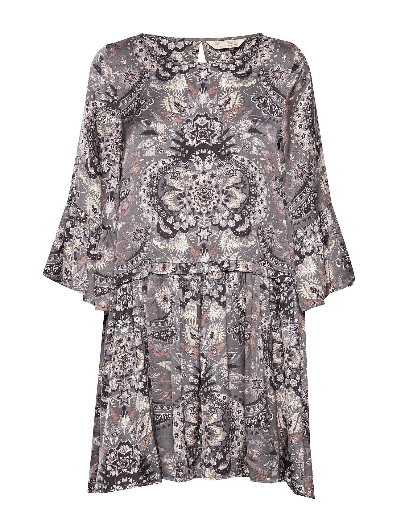 ODD MOLLY Head Turner Dress - ASPHALT