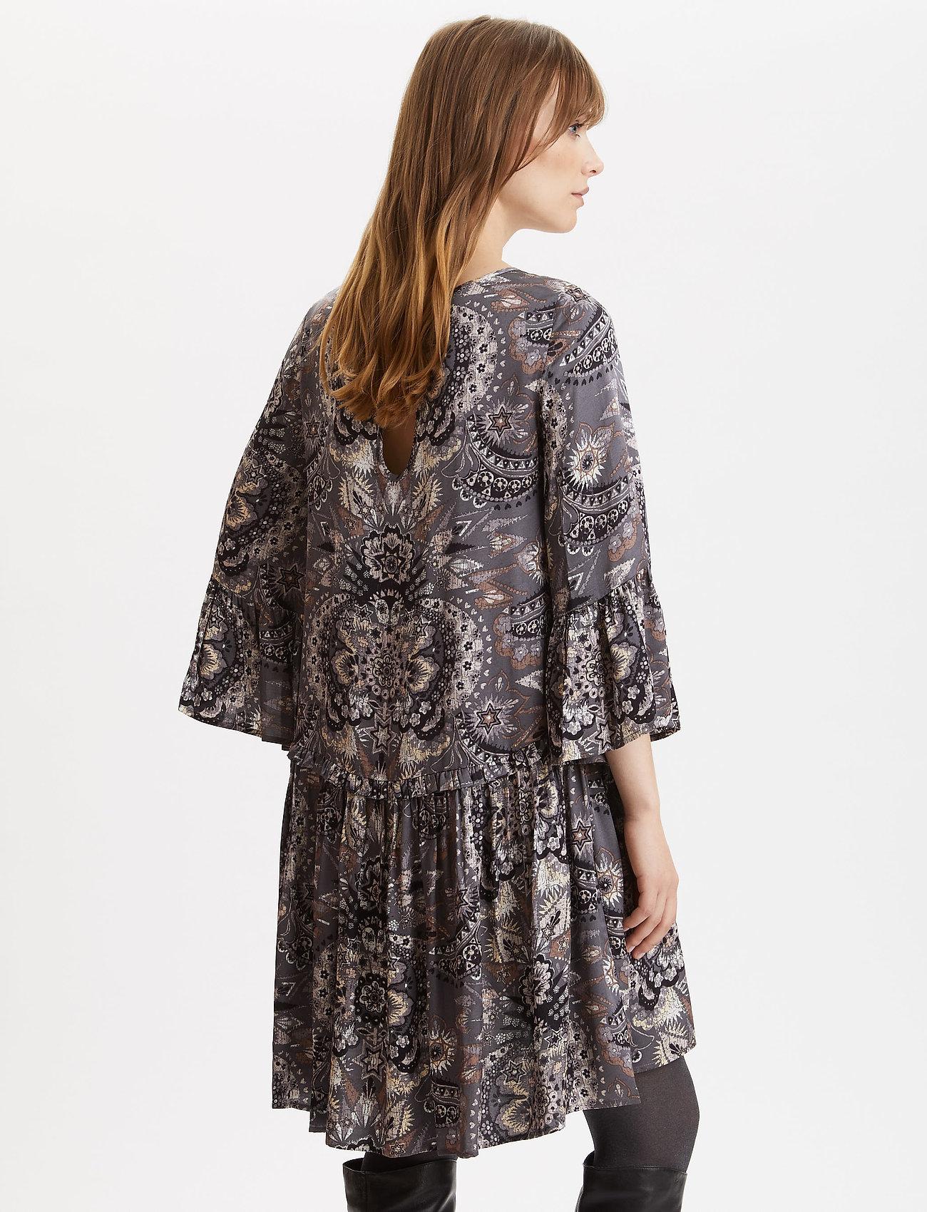 Odd Molly Head Turner Dress - Klänningar Asphalt