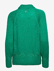ODD MOLLY - Novelty Sweater - turtlenecks - bright emerald - 2