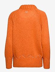 ODD MOLLY - Novelty Sweater - turtlenecks - sunset orange - 2