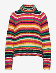 ODD MOLLY - Novelty Stripe Sweater - turtlenecks - multi - 1