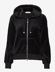 ODD MOLLY - Velouragenius Hood Jacket - pulls à capuche - almost black - 1