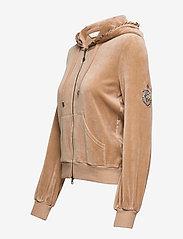 ODD MOLLY - Velouragenius Hood Jacket - pulls à capuche - chocolate cream - 6