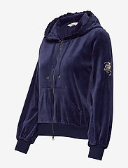 ODD MOLLY - Velouragenius Hood Jacket - pulls à capuche - night sky blue - 6
