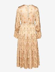 ODD MOLLY - My Kind Of Beautiful Dress - robes midi - light taupe - 2