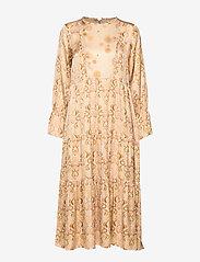 ODD MOLLY - My Kind Of Beautiful Dress - robes midi - light taupe - 7