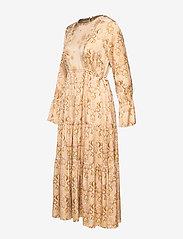 ODD MOLLY - My Kind Of Beautiful Dress - robes midi - light taupe - 8