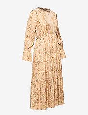 ODD MOLLY - My Kind Of Beautiful Dress - robes midi - light taupe - 9