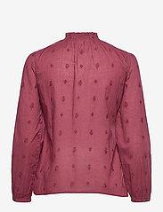 ODD MOLLY - Melinda Blouse - langærmede bluser - baked burgundy - 2