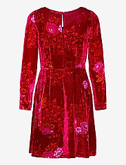 ODD MOLLY - Vera Dress - hverdagskjoler - vivid red - 2