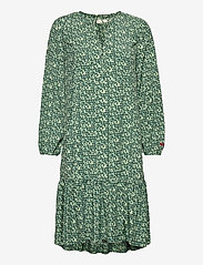 ODD MOLLY - Aria Dress - hverdagskjoler - midnight green - 1