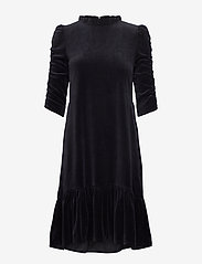 ODD MOLLY - Marion Dress - hverdagskjoler - almost black - 1