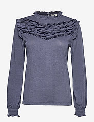 ODD MOLLY - Malou Top - langærmede bluser - dark blue - 1