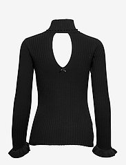 ODD MOLLY - Liza Turtle L/S Top - rullekraver - almost black - 2