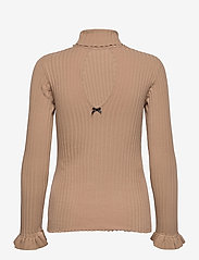 ODD MOLLY - Liza Turtle L/S Top - rullekraver - soft camel - 2