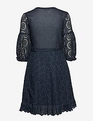 ODD MOLLY - two-step flow dress - lyhyet mekot - dark blue - 1