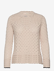 ODD MOLLY - Meryl Sweater - trøjer - light porcelain - 1