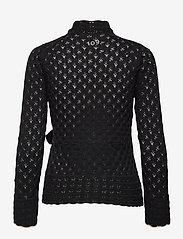 ODD MOLLY - Meryl Wrap Cardigan - cardigans - almost black - 2