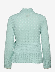 ODD MOLLY - Meryl Wrap Cardigan - cardigans - light aqua - 2