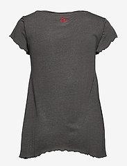 ODD MOLLY - Carole Top - t-shirts - asphalt - 2