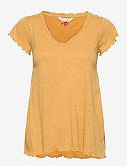 ODD MOLLY - Carole Top - t-shirts - golden biscotti - 1