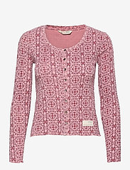 ODD MOLLY - Erin Top - cardigans - pink mauve - 1
