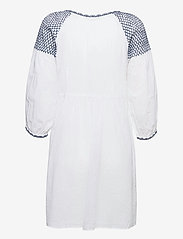 ODD MOLLY - Jill Dress - sommerkjoler - bright white - 2