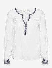 ODD MOLLY - Jill Blouse - langærmede bluser - bright white - 1