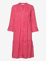 ODD MOLLY - Kayla Dress - sommerkjoler - pink fudge - 1