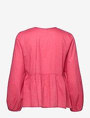 ODD MOLLY - Kayla Blouse - langærmede bluser - pink fudge - 2
