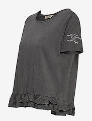 ODD MOLLY - Sally Top - t-shirts - asphalt - 3
