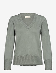 ODD MOLLY - Joni Sweater - trøjer - light cargo - 1