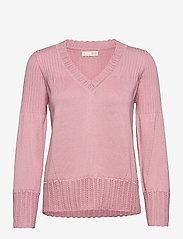 ODD MOLLY - Joni Sweater - trøjer - pink mauve - 1
