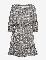 ODD MOLLY - stayin free dress - lyhyet mekot - misty blue - 0