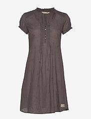 ODD MOLLY - On Point Dress - hverdagskjoler - grey - 0