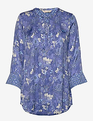 ODD MOLLY - Pretty Printed Short Dress - korte kjoler - vivid blue - 0