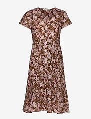 ODD MOLLY - Memorable Dress - midi kjoler - brown harmony - 0