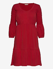 ODD MOLLY - Gloria Dress - hverdagskjoler - cherry red - 1