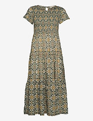 ODD MOLLY - Myrtle Dress - green slate - 1