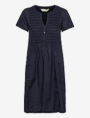 ODD MOLLY - Myrtle Short Dress - sommerkjoler - dark blue - 1