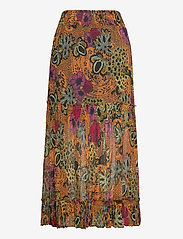 ODD MOLLY - Flora Skirt - maxi nederdele - apricot tan - 2