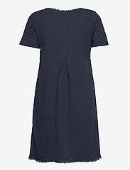 ODD MOLLY - Finest Embroidery Dress - sommerkjoler - dark blue - 2