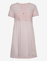 Finest Embroidery Dress - PINK ELDER
