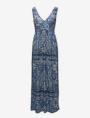ODD MOLLY - playful long dress - robes maxi - vintage blue - 0
