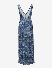 ODD MOLLY - playful long dress - robes maxi - vintage blue - 1