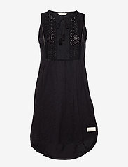 ODD MOLLY - Artful Dress - korte kjoler - almost black - 0